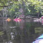 Kayaking on the Black River/Three Sisters