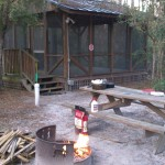 Woods Ferry River Camp on the Suwannee River