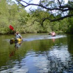 Josh and Matt on Moores Creek