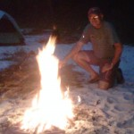 Campfire on the Suwannee River