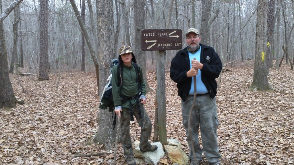 Finding your way on the Uwharrie Trail