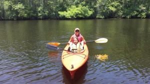 Fun Kayaking with the kids