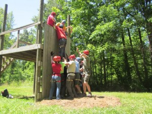 Learn valuable team skills outdoors