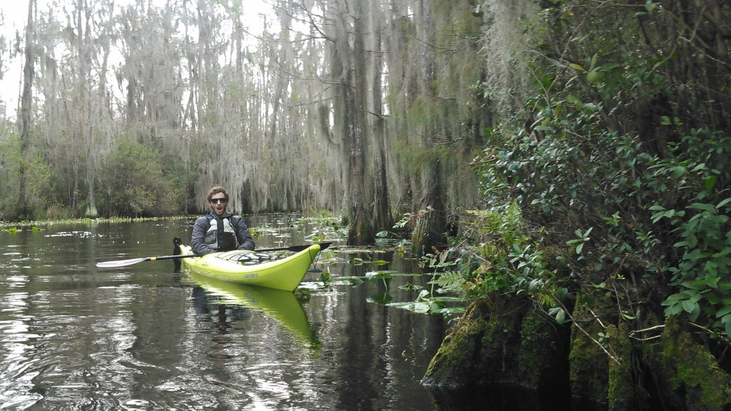 Joseph in the Okefenokee Swamp