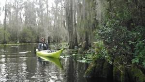 Joseph in the Okefenokee Swamp