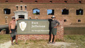 Don & Joseph at Dry Tortuga National Park